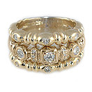 Ladies Diamond Ring - 14k Yellow Gold - Style# 002042YY